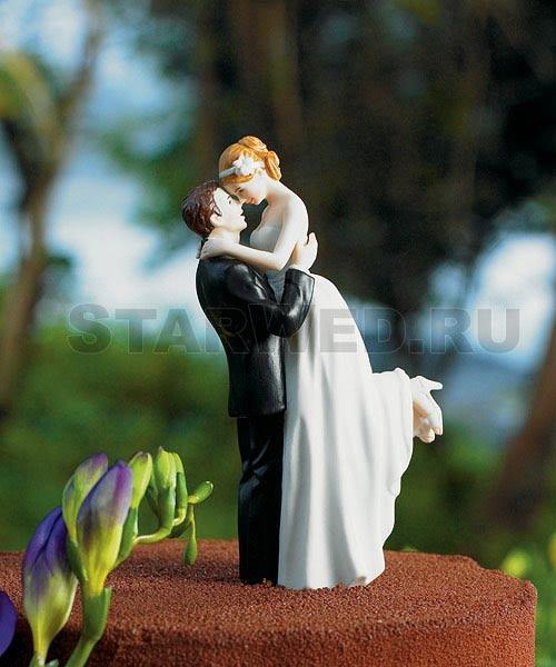 Фигурка на свадебный торт — весна в