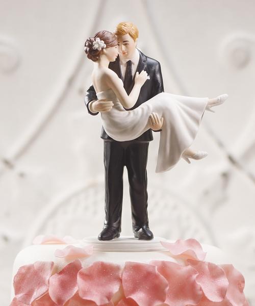 Статуэтки на свадебный торт - фото
